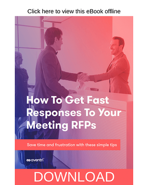 Download Now - How to Get Fast Responses to Your Meeting RFPs eBook