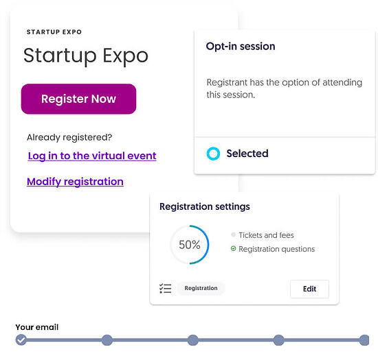 Aventri's express events intuitive registration