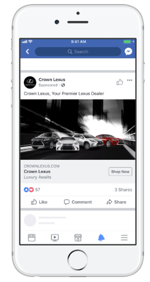 Facebook Ads - Social media tool used by planners to help promote events