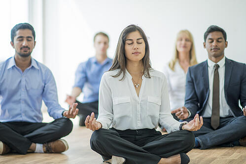 Wellness is a huge trend for events in 2019.