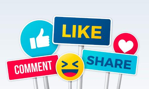 Various social media platforms symbolizing how to promote your next event