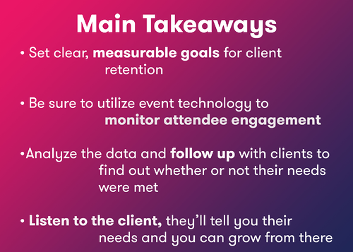 Aventri's approach to client retention