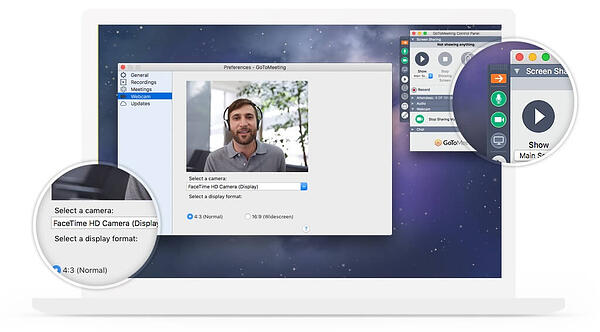 HD video conferencing with GoToMeeting