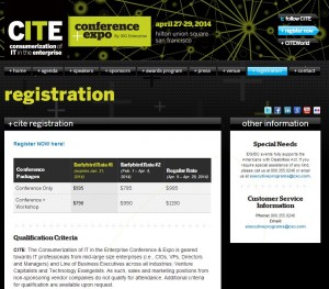 CITE conference and expo