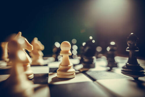 A strategic game of chess