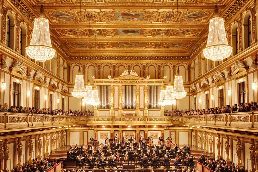 Musikverein Venue in Vienna, Austria