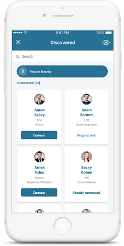 Aventri's Networking 2.0 Mobile App