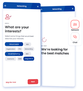 Aventri's engagement and networking mobile app