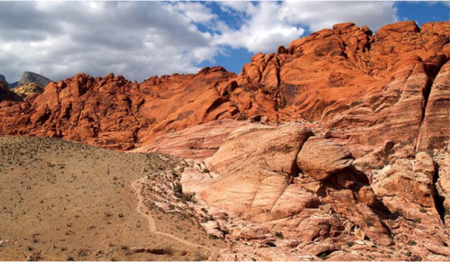 Red Rock Canyon in Las Vegas, Nevada