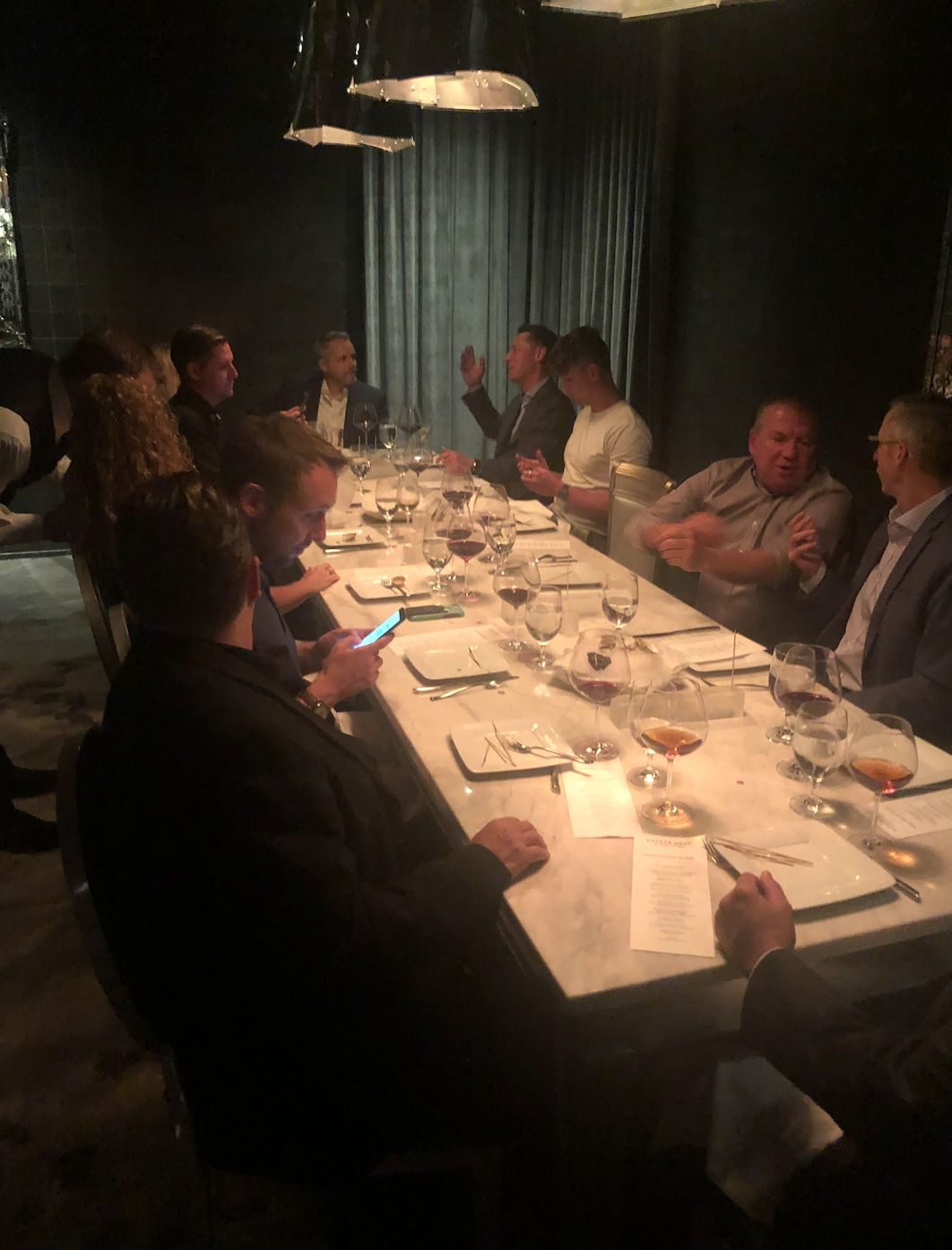 Aventri and Meetingmax hosted a special happy hour followed by a dinner at Bazaar Meat by Jose Andres for IMEX America 2019 attendees