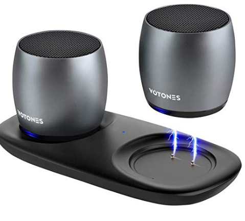 Twin Portable Bluetooth Speakers