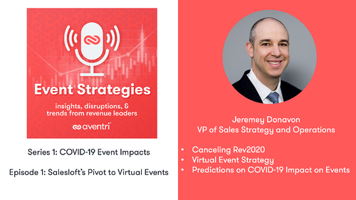 Event Strategies Podcast Series 1 with Jeremey Donovan