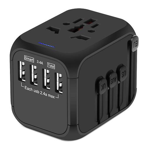 Castries all in one travel adapter