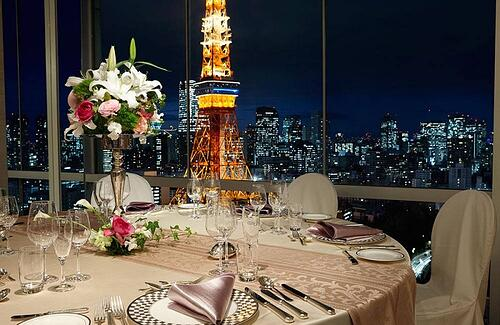 The Prince Park Tower Venue in Tokyo, Japan
