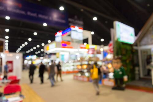 exhibition hall event trade show expo booth