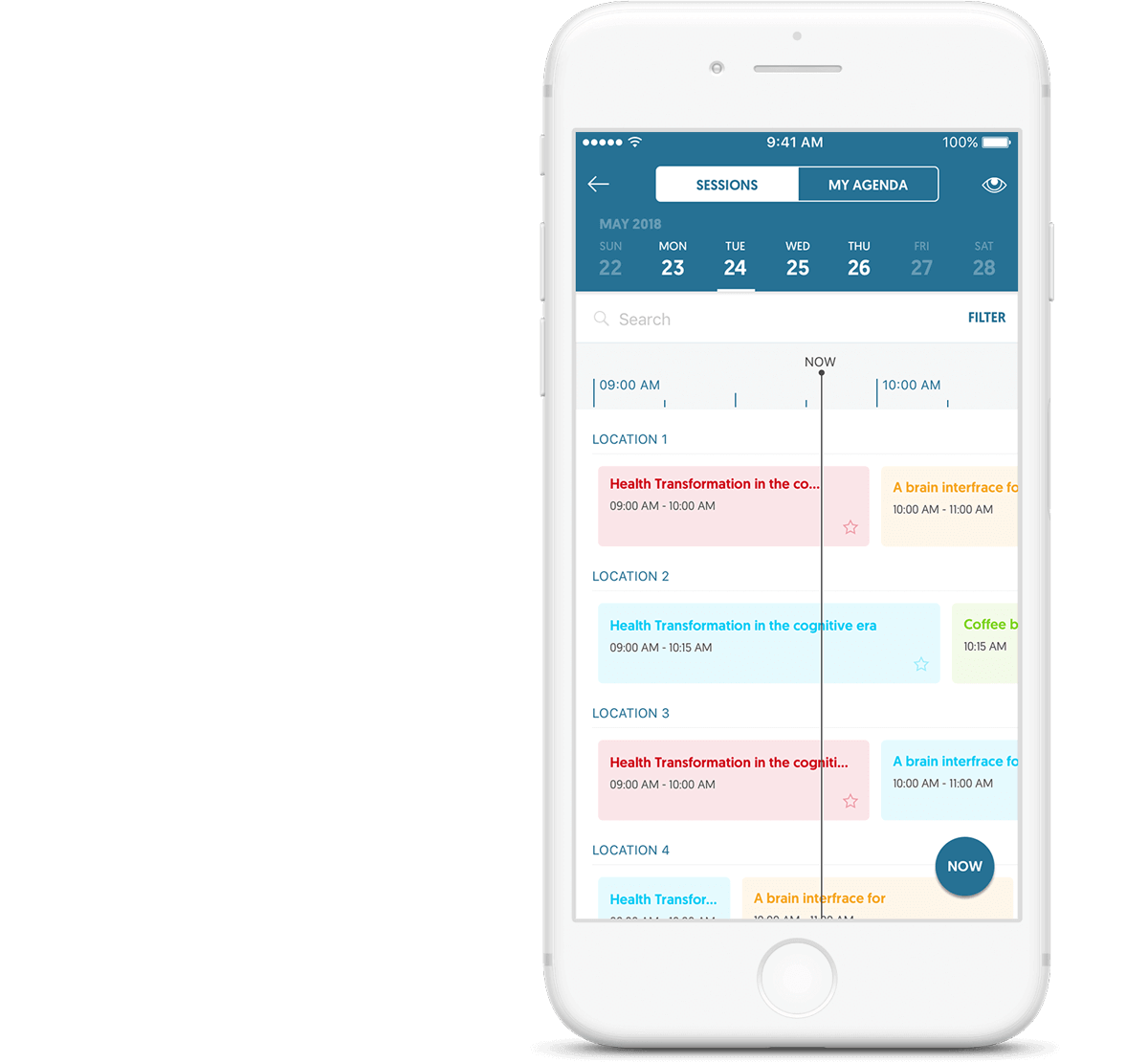 use a mobile event app to boost attendee engagement