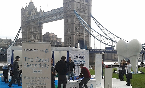 Example of experiential campaign from Sensodyne called the 'The Great Sensitivity Test